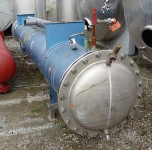 Wärmetauscher 650 Liter, gebraucht