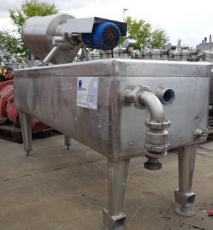 Wanne 500 Liter aus V2A, gebraucht, einwandig
