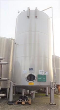 Behälter 25.000 Liter aus V2A, gebraucht, einwandig