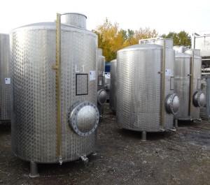 Behälter 3.400 Liter aus V2A, gebraucht, einwandig