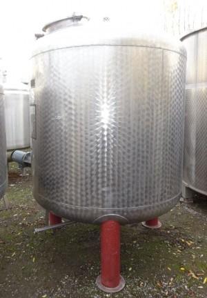 Behälter 2.800 Liter aus V2A, gebraucht, einwandig