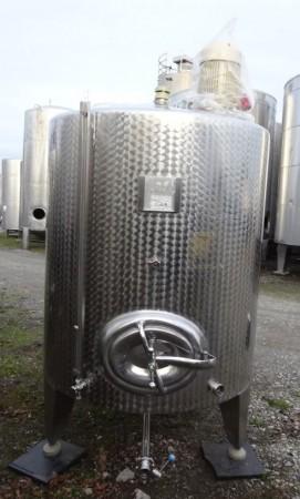 Behälter 2.500 Liter aus V2A, gebraucht, einwandig