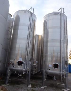 Behälter 27.900 Liter aus V2A, gebraucht, einwandig