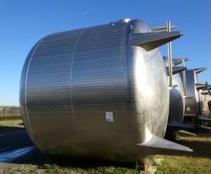 Behälter 50.000 Liter aus V2A, gebraucht, einwandig