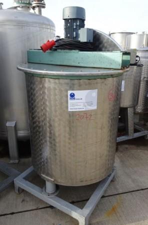 Behälter 500 Liter aus V2A, gebraucht, einwandig