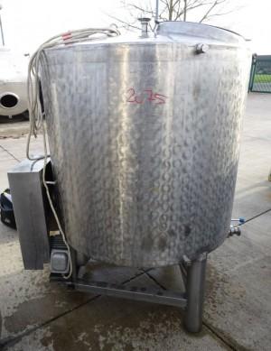 Behälter 700 Liter aus V2A, gebraucht, einwandig