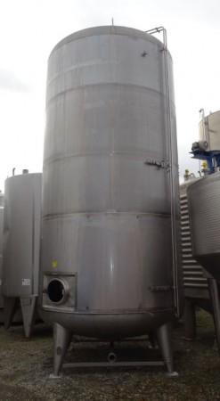 Behälter 25.000 Liter aus V2A, gebraucht, temperierbar