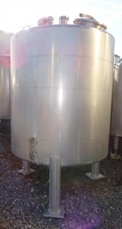 Behälter 2.300 Liter aus V2A, gebraucht, einwandig