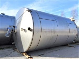 Behälter 35.000 Liter aus V2A, gebraucht, einwandig