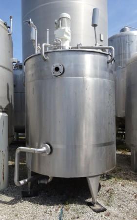 Behälter 3.525 Liter aus V2A temperierbar, isoliert