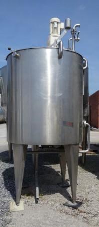 Behälter 1.650 Liter aus V2A temperierbar, isoliert