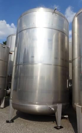 Behälter 25.000 Liter aus V4A, gebraucht, einwandig