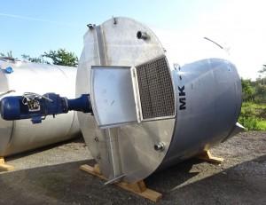 Behälter 11.000 Liter aus V4A, gebraucht, einwandig