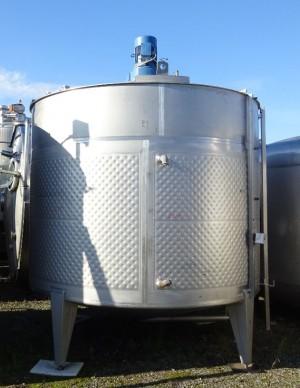 Behälter 12.000 Liter aus V2A, gebraucht, temperierbar