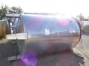 Behälter 7.000 Liter aus V4A, gebraucht, einwandig