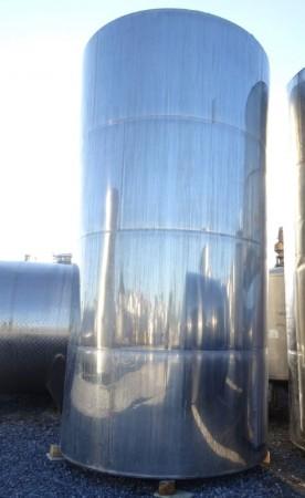 Behälter 26.500 Liter aus V2A, gebraucht, einwandig