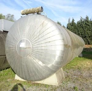 Behälter 50.000 Liter aus Stahl, doppelwandig, gebraucht