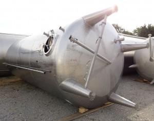 Behälter 47000 Liter aus V2A, gebraucht, einwandig