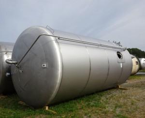 Behälter 47.000 Liter aus V2A, gebraucht, einwandig