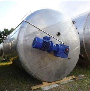 Behälter 43.000 Liter aus V2a, einwandig