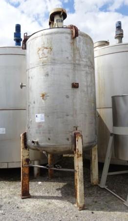 Behälter 4.000 Liter aus V2A, gebraucht, einwandig