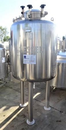 Behälter 670 Liter aus V2A, gebraucht, einwandig