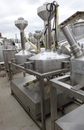 Eichbehälter 10, 20, 50 Liter aus V2A, gebraucht