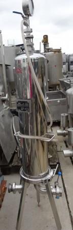 Filter 35 Liter aus V2A, gebraucht