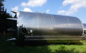 KZE-Tank 62.850 Liter aus V2A, gebraucht, einwandig