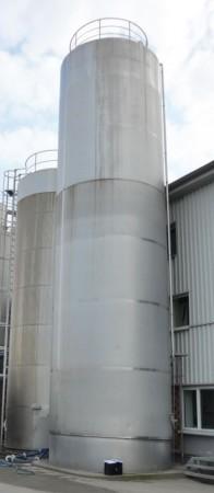 Behälter 150.000 Liter aus V2A, isoliert, gebraucht