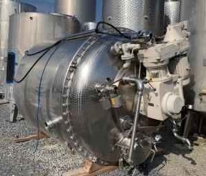 Becomix-Behälter 6.755 Liter (total) aus V2A, gebraucht, temperierbar, isoliert
