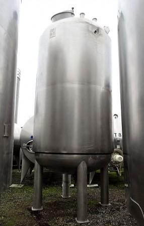 Behälter 11.630 Liter aus V4A, isoliert