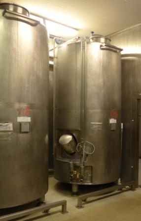 Behälter 3.500 Liter aus V4A, isoliert, temperierbar