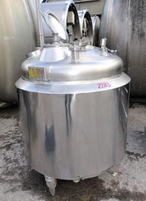 Behälter 457 Liter aus V4A isoliert, temperierbar