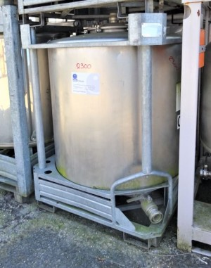 Container 1.023 Liter aus V2A