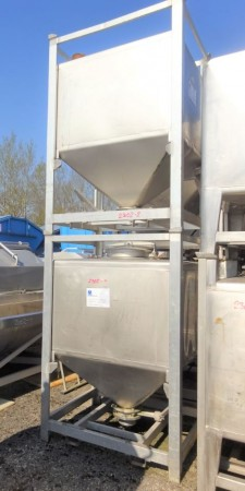 Container 1.000 Liter aus V2A
