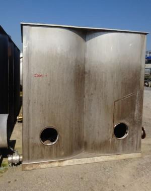 Behälter 7.200 Liter aus V2A einwandig