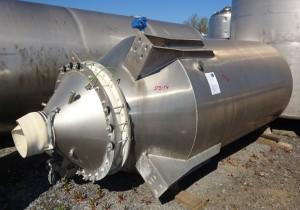 Silo 5.000 Liter aus Aluminium
