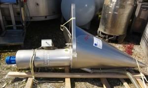Trichter 200 Liter aus V2A einwandig