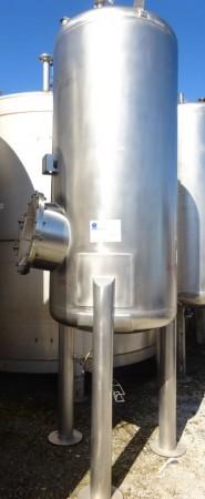 Druckbehälter 1.800 Liter aus V4A einwandig