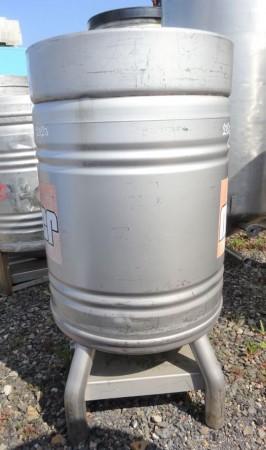 Rundcontainer 500 Liter aus V2A einwanidg