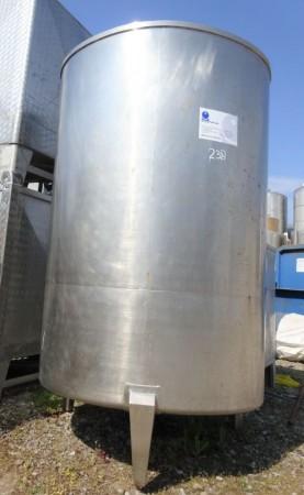 Behälter 2.000 Liter aus V2A einwandig