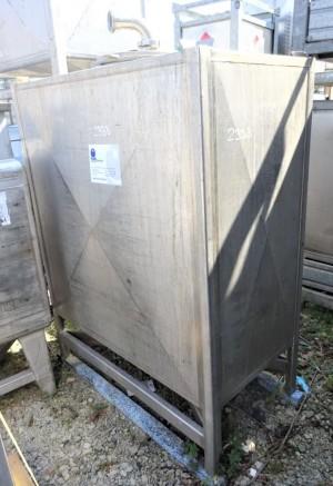 Contaioner 1.000 Liter aus V2A