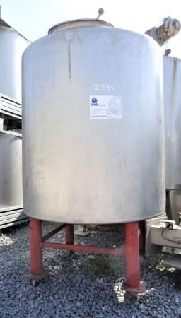 Behälter 1.400 Liter aus V2A einwandig