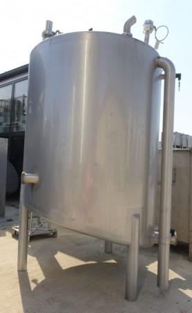 Behälter 1.059 Liter aus V2A einwandig