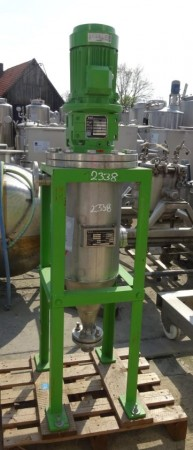 Rühranlage 25 Liter aus V4A einwandig