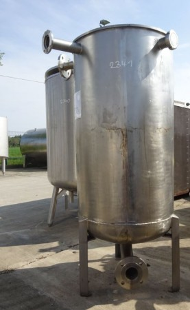 Behälter 300 Liter aus V2A einwandig