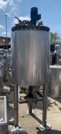 Behälter 350 Liter aus V4A isoliert, temperierbar