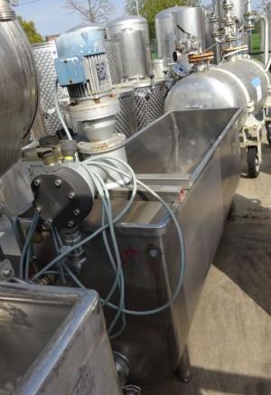 Wanne 200 Liter aus V2A