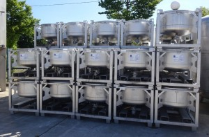 Behälter 200 Liter aus V2 A
